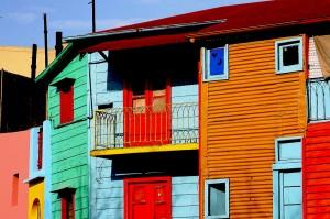La Boca and its colors