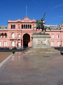 Buenos Aires - Casa Rosada - Front