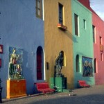 Colorful neighborhood of La Boca