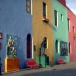 Colorful neighborhood of La Boca