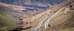 Purmamarca road - Argentina Travel