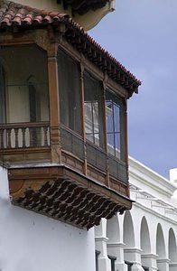 Argentina Travel - Salta - Balconies