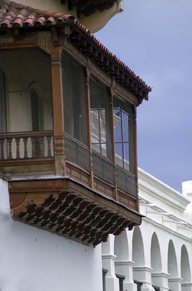 Argentina Travel - Salta - Balconies