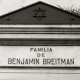 Benjamin Breitman – Recoleta Cemetery – Buenos Aires – Argentina