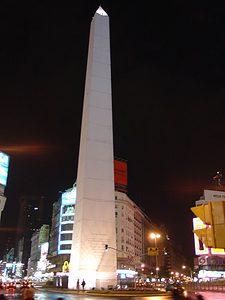 Buenos Aires Travel - Obelisco and Avenida 9 de Julio
