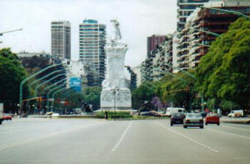 Spaniard's Statue - Buenos Aires - Monumento a los Españoles