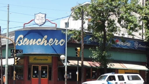 Banchero today in the neighborhood of La Boca