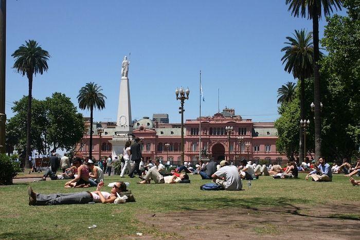 Plaza de Mayo, Buenos Aires, Argentina.